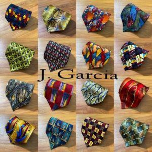 J. Garcia Ties Bundle of 16 Men's Silk Neckties